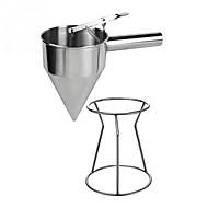 お買い得  キッチン用品 & 小物-1個 キッチンツール ステンレス鋼 ベーキングツール 漏斗 チョコレートのための / ケーキのための / カップケーキのための