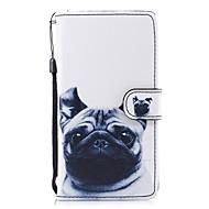 Недорогие Чехлы и кейсы для Galaxy А-Кейс для Назначение SSamsung Galaxy А5 (2018) A5(2017) Бумажник для карт Кошелек со стендом Флип С узором Чехол С собакой Твердый Кожа PU