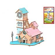 preiswerte Spielzeuge & Spiele-Holzpuzzle Logik & Puzzlespielsachen Landschaften Mode Klassisch Mode Neues Design Profi Level Fokus Spielzeug Stress und Angst Relief