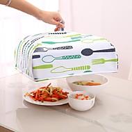 お買い得  キッチン用小物-折りたたみ式の食品カバーは、暖かいホットアルミホイルカバー皿断熱utilidadesキッチンを保つ