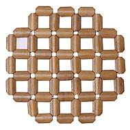 abordables Salvamanteles-Moderno El plastico Redondo Juego de Mesa Un Color Decoraciones de mesa 1 pcs