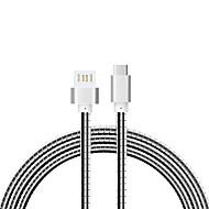 abordables Accesorios para Tablet y PC-Cwxuan USB 3.1 Tipo C Cable adaptador, USB 3.1 Tipo C to USB 2.0 Cable adaptador Macho - Macho 1,0 m (3 pies) 480 Mbps
