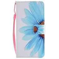 Недорогие Чехлы и кейсы для Galaxy A5(2017)-Кейс для Назначение SSamsung Galaxy A8 2018 A5(2017) Бумажник для карт Кошелек со стендом Флип Магнитный Чехол Цветы Твердый Кожа PU для