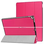 Χαμηλού Κόστους Θήκες/Καλύμματα για iPad-tok Για Apple iPad Pro 12,9 '' Ανοιγόμενη / Εξαιρετικά λεπτή / Οριγκάμι Πλήρης Θήκη Μονόχρωμο Σκληρή PU δέρμα για iPad Pro 12.9'' / Apple