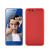 Недорогие Чехлы и кейсы для Huawei Honor-Кейс для Назначение Huawei Honor View 10(Honor V10) Honor 9 Матовое Кейс на заднюю панель Однотонный Твердый ПК для Honor 9 Huawei Honor