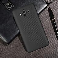 お買い得  携帯電話ケース-ケース 用途 Huawei Mate 10 lite / Mate 10 超薄型 バックカバー ライン/ウェイブ ソフト カーボンファイバー のために Mate 10 / Mate 10 pro / Mate 10 lite