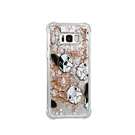 Недорогие Чехлы и кейсы для Galaxy S7 Edge-Кейс для Назначение SSamsung Galaxy S8 Plus S8 Движущаяся жидкость С узором Кейс на заднюю панель С собакой Мягкий ТПУ для S8 Plus S8 S7