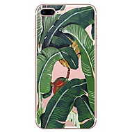 cheap -Case For Apple iPhone X iPhone 8 Pattern Back Cover Plants Soft TPU for iPhone X iPhone 8 Plus iPhone 8 iPhone 7 Plus iPhone 7 iPhone 6s