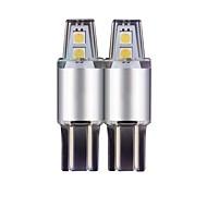 Недорогие Внешние огни для авто-4шт T10 Автомобиль Лампы 4W SMD 3030 320lm 4 Светодиодная лампа Внешние осветительные приборы For Универсальный Все модели Все года
