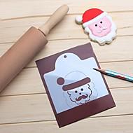お買い得  キッチン用小物-サンタの句の顔のクッキーステンシルカッターコーヒードローの金型キッチン
