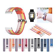 Недорогие Аксессуары для смарт-часов-Ремешок для часов для Pebble Time / Pebble Time Steel Samsung Galaxy Спортивный ремешок Нейлон Повязка на запястье
