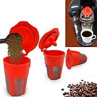 abordables Cocina y Comedor-Acero inoxidable / El plastico Cocina creativa Gadget 2pcs Colador de té