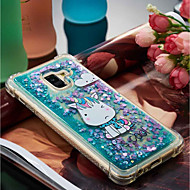 Недорогие Чехлы и кейсы для Galaxy A5(2016)-Кейс для Назначение SSamsung Galaxy A8 Plus 2018 / A8 2018 Защита от удара / Движущаяся жидкость / С узором Кейс на заднюю панель единорогом Мягкий ТПУ для A3 (2017) / A5 (2017) / A8 2018