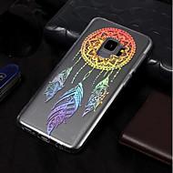 Недорогие Чехлы и кейсы для Galaxy S7 Edge-Кейс для Назначение SSamsung Galaxy S9 / S9 Plus IMD / С узором Кейс на заднюю панель Ловец снов Мягкий ТПУ для S9 Plus / S9 / S8 Plus