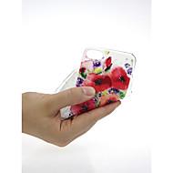 Недорогие Кейсы для iPhone 8 Plus-Кейс для Назначение Apple iPhone X / iPhone 7 Ультратонкий / С узором / Милый Кейс на заднюю панель Цветы Мягкий ТПУ для iPhone X /