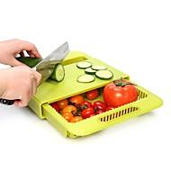 abordables Organización de encimera y pared-Organización de cocina Repisas y Soportes Plástico Nuevo diseño / Almacenamiento / Creativo 1pc