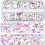 cheap -1pcs Nail Glitter Glitters / Sequins Cute Daily Nail Art Forms