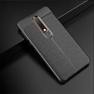 Capinha Para Nokia 8 Sirocco / Nokia 6 2018 Com Relevo Capa traseira Sólido Macia TPU para 8 Sirocco / Nokia 6 2018