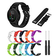 Watch Band for Fenix 5x / Fenix 3 HR / Fenix 3 Garmin Modern Buckle Silicone Wrist Strap