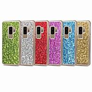 Недорогие Чехлы и кейсы для Galaxy S9 Plus-Кейс для Назначение SSamsung Galaxy S9 S9 Plus Сияние и блеск Кейс на заднюю панель Блеск Твердый ПК для S9 Plus S9 S8 Plus S8 S7 edge S7