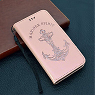 Недорогие Чехлы и кейсы для Huawei Honor-Кейс для Назначение Huawei Honor 9 / Honor 7X Кошелек / Бумажник для карт / со стендом Чехол Слова / выражения / Соблазнительная девушка