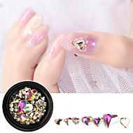 abordables Maquillaje y manicura-1pcs Joyería de uñas Moda La imitación de diamante Ropa Cotidiana Nail Art Design