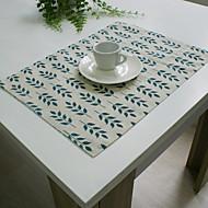 abordables Mantelería-Moderno Algodón Cuadrado Forros de Mesa Floral Decoraciones de mesa 1 pcs