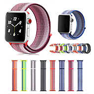 abordables Compra en Grupo-Ver Banda para Apple Watch Series 3 / 2 / 1 Apple Hebilla Moderna Nailon Correa de Muñeca
