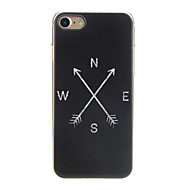 Недорогие Кейсы для iPhone 8 Plus-Кейс для Назначение Apple iPhone X / iPhone 7 Ультратонкий / С узором / Милый Кейс на заднюю панель Слова / выражения Мягкий ТПУ для iPhone X / iPhone 8 Pluss / iPhone 8