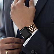 Недорогие Аксессуары для смарт-часов-Ремешок для часов для Fitbit Versa Fitbit Классическая застежка Нержавеющая сталь Повязка на запястье