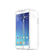 Недорогие Чехлы и кейсы для Galaxy A8-Кейс для Назначение SSamsung Galaxy A8 2018 Прозрачный Кейс на заднюю панель Однотонный Мягкий ТПУ для A8