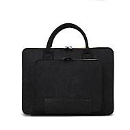 "abordables Accesorios de Portátil-Textura de lana Color sólido Bolsos de Mano Laptop de 14 "" / iPad"