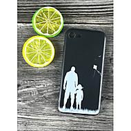 Недорогие Кейсы для iPhone 8 Plus-Кейс для Назначение Apple iPhone X / iPhone 8 Plus Защита от удара / С узором Кейс на заднюю панель Плитка Мягкий ТПУ для iPhone X /