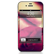 Недорогие Защитные плёнки для экрана iPhone-1 ед. Наклейки для Защита от царапин Лолита Узор PVC iPhone 4/4S