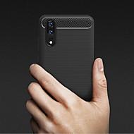 preiswerte Handyhüllen-Hülle Für Huawei P20 lite / P8 Geprägt Rückseite Solide Weich TPU für Huawei P20 / Huawei P20 Pro / Huawei P20 lite / P10 Lite