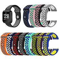 cheap -Watch Band for Fitbit Versa Garmin / Fitbit Sport Band Silicone Wrist Strap