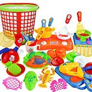 preiswerte Spielzeuge & Spiele-Tue so als ob du spielst Home Küchenwerkzeug / Eltern-Kind-Interaktion Kinder / Vorschule Geschenk 35pcs
