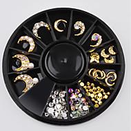 abordables Maquillaje y manicura-1pcs Joyería de uñas Metálico / Elegante Bonito / Espumoso Diario Nail Art Design