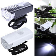 cheap -Front Bike Light LED Cycling Portable / Waterproof / Lightweight 400lm Lumens Rechargeable Batteries White Camping / Hiking / Caving /