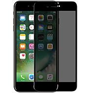Недорогие Защитные плёнки для экранов iPhone 8 Plus-Защитная плёнка для экрана для Apple iPhone 8 Pluss Закаленное стекло 1 ед. Защитная пленка на всё устройство 3D закругленные углы /