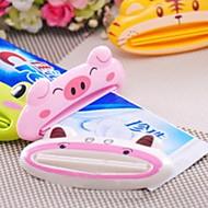 お買い得  浴室用小物-歯磨き粉スクイーザ 多機能 / ノンスリップ コンテンポラリー ABS + PC 1パック 歯ブラシ&アクセサリー