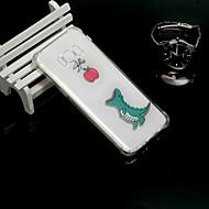Недорогие Чехлы и кейсы для Galaxy S-Кейс для Назначение SSamsung Galaxy S9 / S9 Plus Защита от удара / Полупрозрачный Кейс на заднюю панель Животное Мягкий ТПУ для S9 Plus /