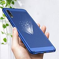 お買い得  携帯電話ケース-ケース 用途 Huawei P20 lite / P20 Pro 超薄型 バックカバー ソリッド ハード PC のために Huawei P20 lite / Huawei P20 Pro / Huawei P20
