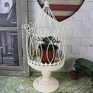 abordables Home Fragrances-Moderno / Contemporáneo / Estilo Simple Hierro Candelabros Candelero 1pc, Candelero / candelero