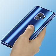 Недорогие Чехлы и кейсы для Galaxy S8 Plus-Кейс для Назначение SSamsung Galaxy S9 Plus / S9 Покрытие / Зеркальная поверхность Чехол Однотонный Твердый ПК для S9 / S9 Plus / S8 Plus