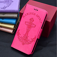 お買い得  携帯電話ケース-ケース 用途 LG K10 2018 / K10(2017) ウォレット / カードホルダー / フリップ フルボディーケース ソリッド / ワード/文章 / セクシーレディ ハード PUレザー のために LG V30 / LG V20 MINI / LG StyLo 3