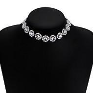 preiswerte -Damen Stapel Halsketten  -  Europäisch, Modisch Weiß 30 cm Modische Halsketten 1pc Für Normal