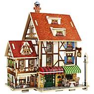 preiswerte Spielzeuge & Spiele-Holzpuzzle Haus / 3D lieblich / Eltern-Kind-Interaktion Alles Geschenk