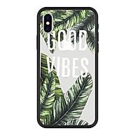 Недорогие Кейсы для iPhone 8 Plus-Кейс для Назначение Apple iPhone X / iPhone 8 Plus С узором Кейс на заднюю панель Растения / Слова / выражения / Мультипликация Твердый Акрил для iPhone X / iPhone 8 Pluss / iPhone 8