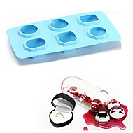 お買い得  キッチン用小物-ベークツール シリコーン 3D / DIY Cupcake / アイス / アイスクリーム トレー / ケーキ型 1個